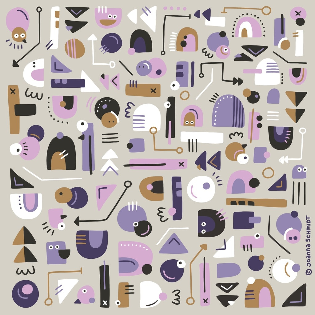 Joanna Schmidt - Grafiskt mönster